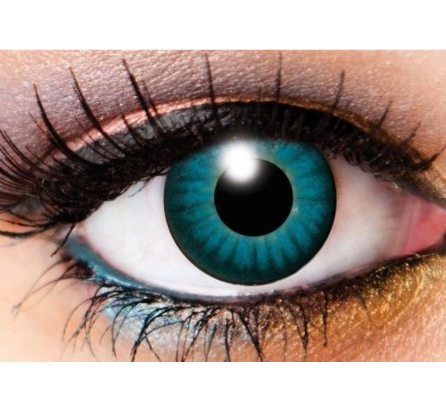 Electro Blue | Weekly lenses | Contact lenses
