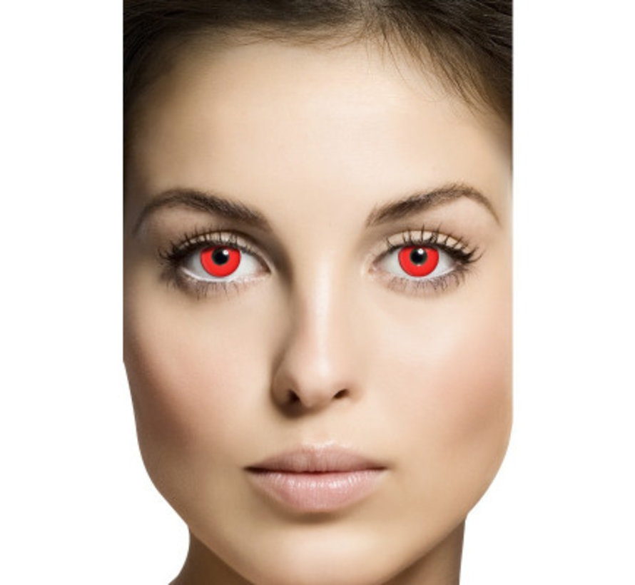 Red Devil | Weekly lenses | Contact lenses