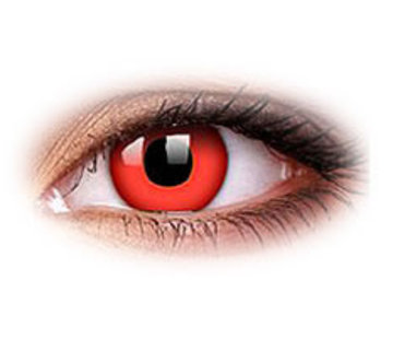 Eyecatcher Red Devil | Weekly Lenses