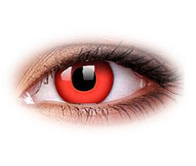 Eyecatcher Red Devil | Lentilles hebdomadaires | Lentilles de contact