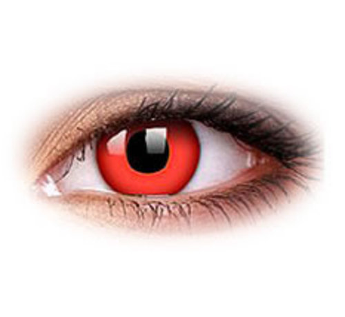 Eyecatcher Red Devil | Weekly lenses | Contact lenses