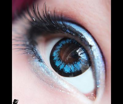 Eyecatcher Angel | 3 month Blue color lenses | Contact lenses