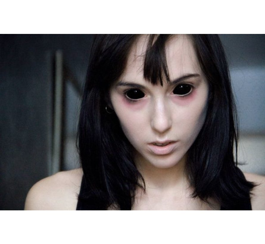 Black Sclera lenses 22 mm