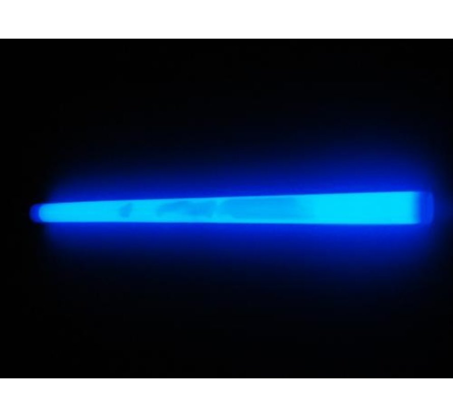"""10"""" Glow Sticks Blauw"""