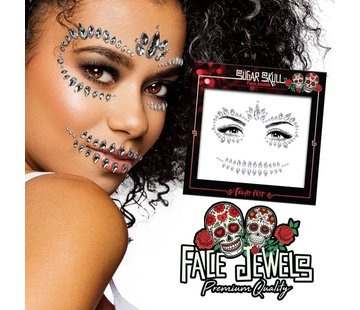 Fright Fest Face Jewels | Sugar Skull