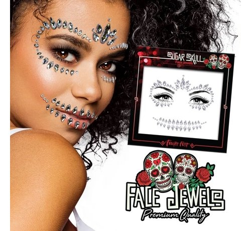 Fright Fest Face Jewels | Sugar Skull