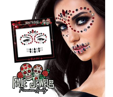 Fright Fest Bijoux de Visage | Day Of The Dead