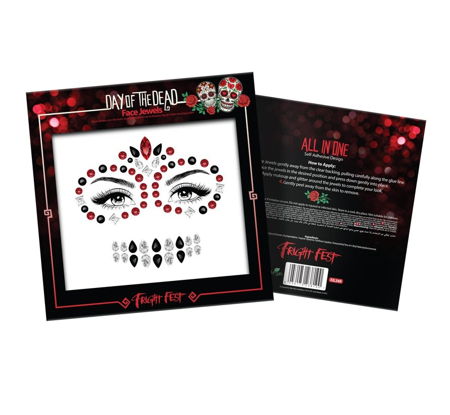 Face Jewels | Day Of The Dead