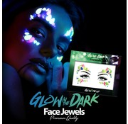 Fright Fest Gezicht Juwelen | Glow In The Dark