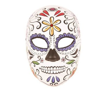 Partyline Day of dead masker vrouw