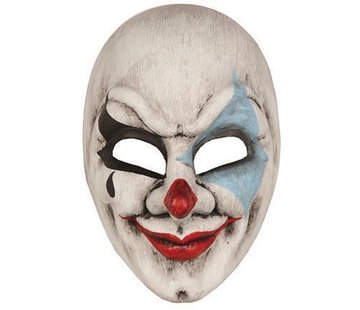 Partyline Day of dead masque clown