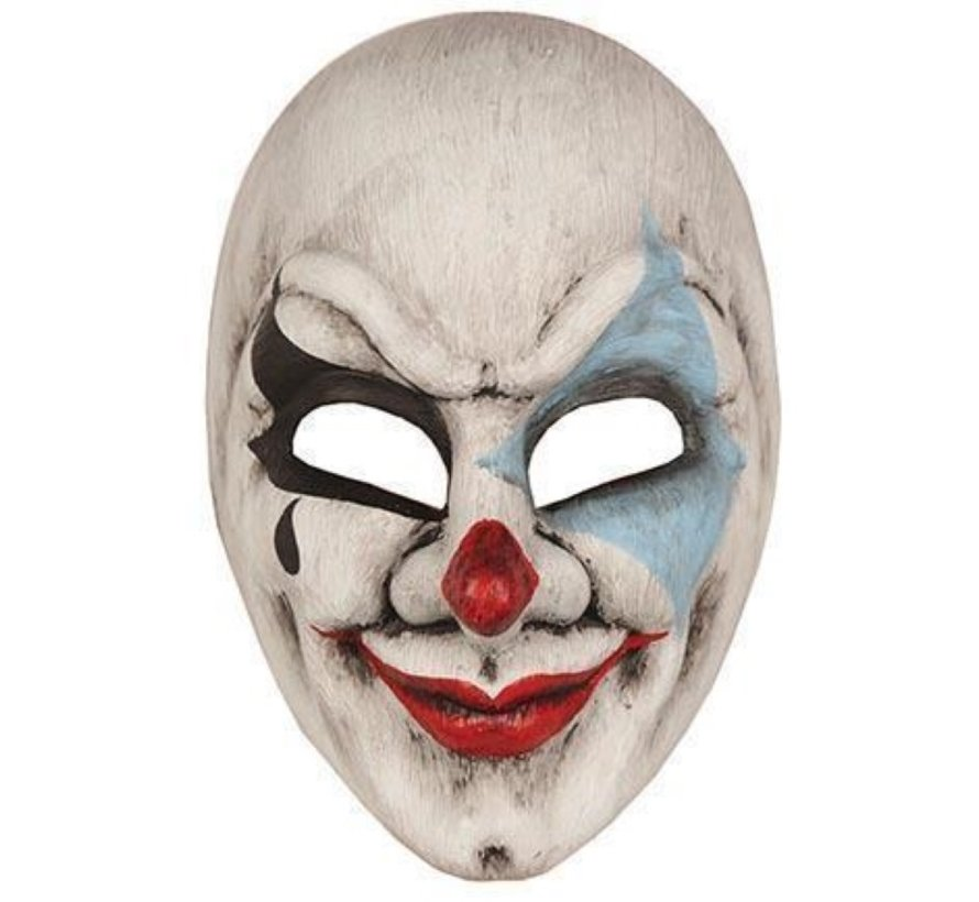 Day of dead mask  clown