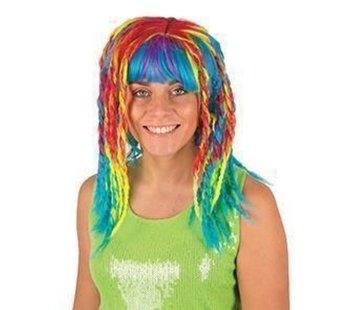 Partyline Rasta Wig | Neon