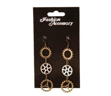Partyline Steampunk earrings