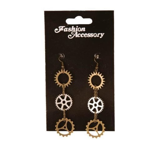 Partyline Steampunk earrings