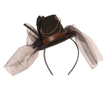 Partyline Steampunk Mini chapeau sur diadème