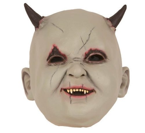 Partyline Mask Baby Devil