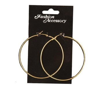 Partyline Earrings large | Gold