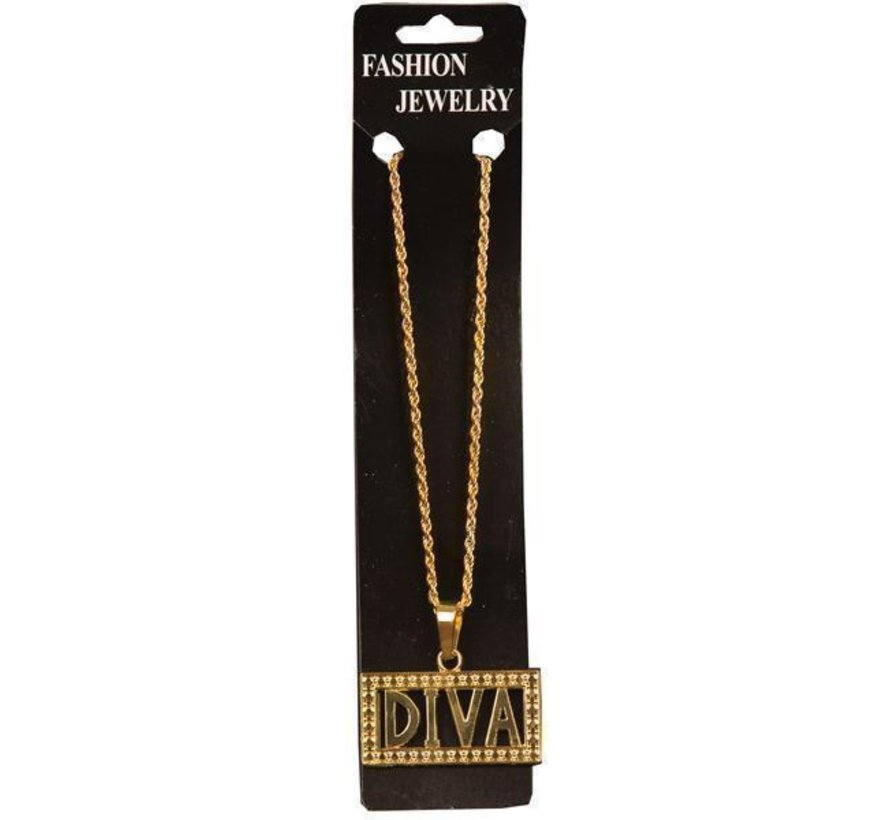 Necklace Diva | Golden chain