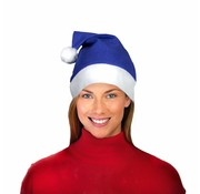 Breaklight.be Bonnet de Noel Bleu
