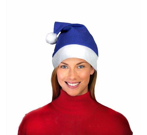 Breaklight.be Blue Santa Hat
