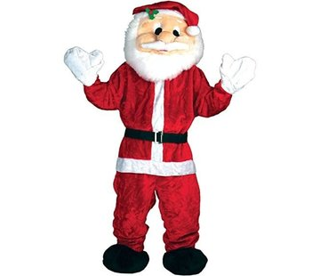 Wicked Costumes  Kerstman Deluxe Mascot Kostuum