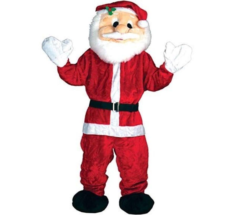 Costume De Mascotte Deluxe Père Noël