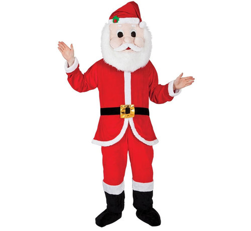 Wicked Costumes  Kerstman Mascot Kostuum