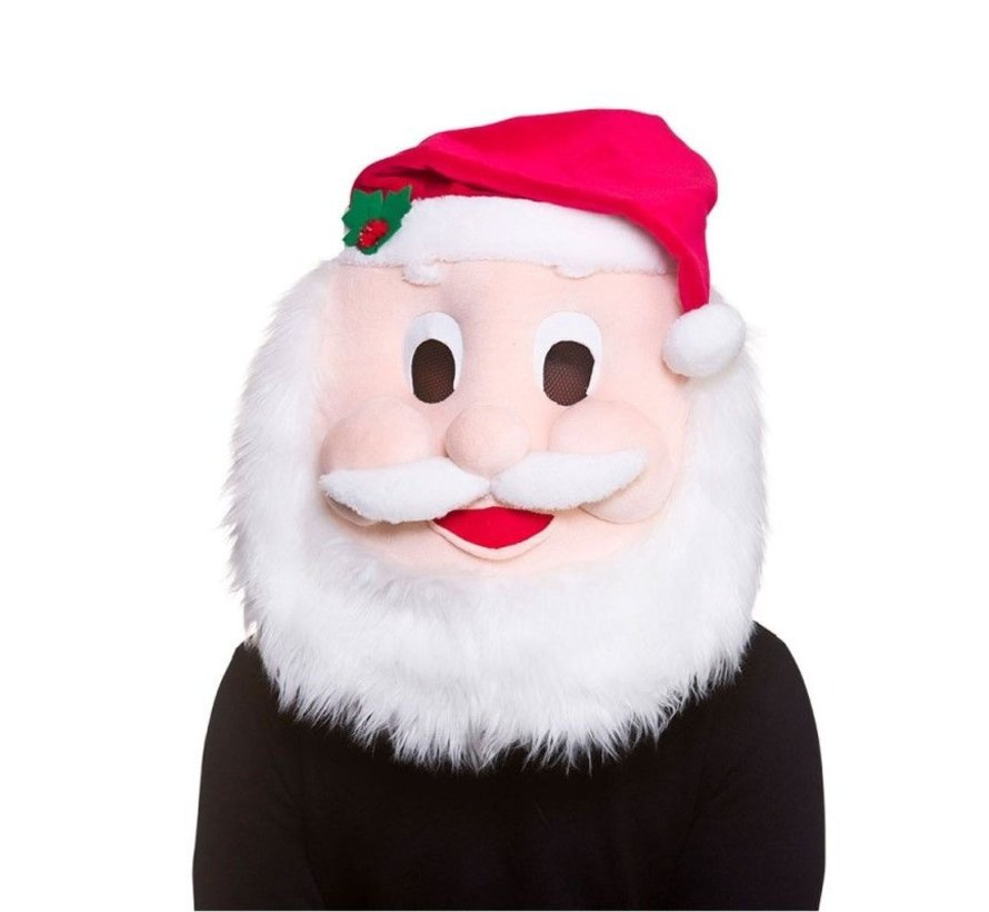 Tête Mascot Père Noël