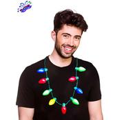 Wicked Costumes  Kerstboom lichtjes halsketting