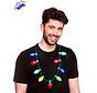 Kerstboom lichtjes halsketting  - 9 LEDS