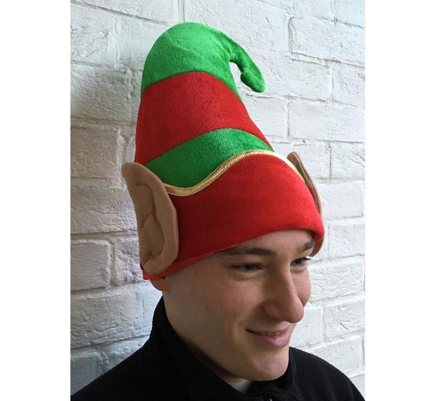 Deluxe Elf Hat with Ears