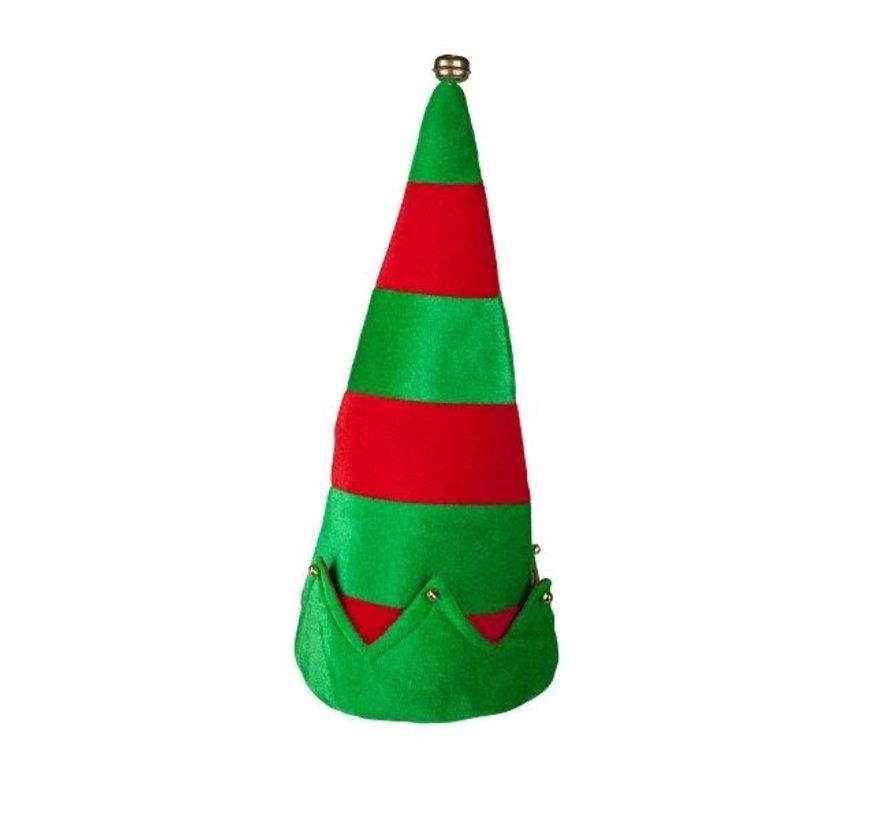 Chapeau d'elfe avec des cloches