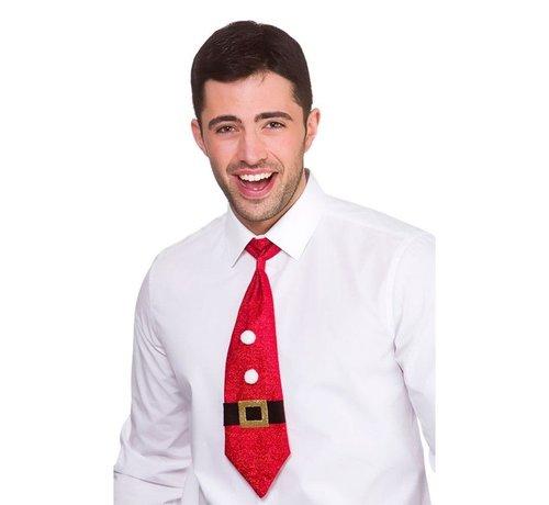 Wicked Costumes  Cravate de Noël pailletée - Père Noël