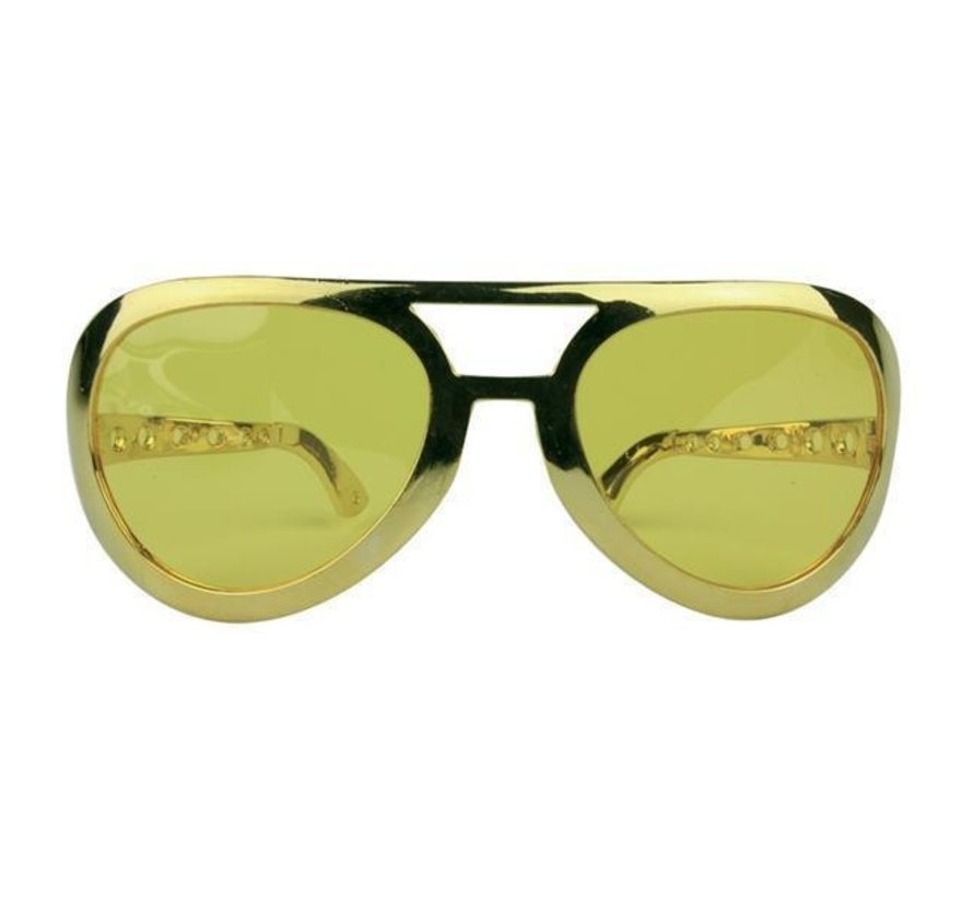 Big Gold Glasses Elvis