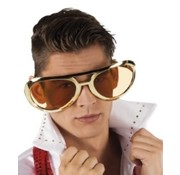 Partyline Big Gold Glasses Elvis