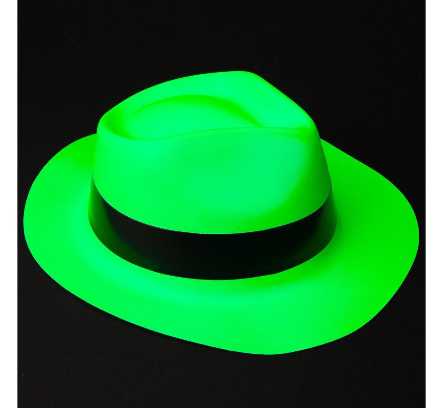Neon green bandit hat