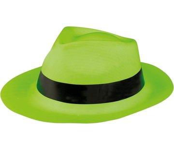 Partyline Chapeau de bandit vert fluo