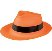 Partyline Chapeau de bandit  orange fluo