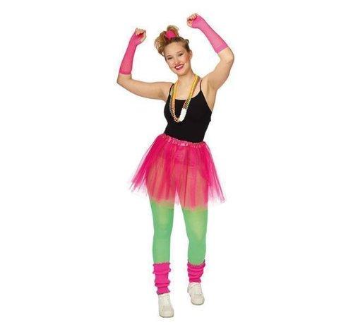 Partyline Neon Roze Tutu set