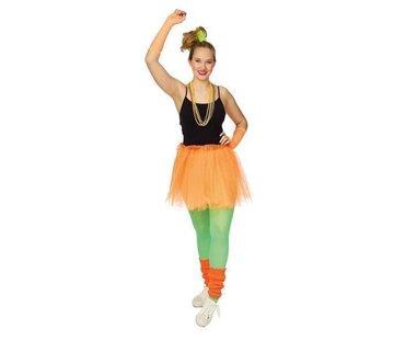 Partyline Neon Orange Tutu 4 parts set