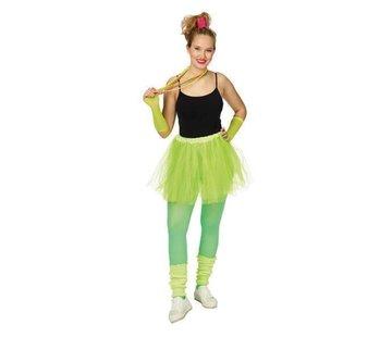 Partyline Neon gele Tutu 4  delige set