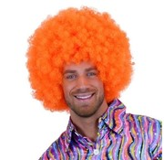 Partyline Neon Afro Wig Curler Orange