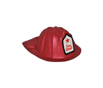 Funny Fashion Casque de pompier adulte (mousse)