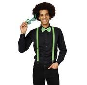 Partyline Ensemble d'accessoires vert fluo