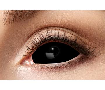 Eyecatcher Black Sclera lenzen 22 mm | Zwarte lenzen