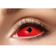 Eyecatcher Full Red Eye lentilles Sclera 22 mm