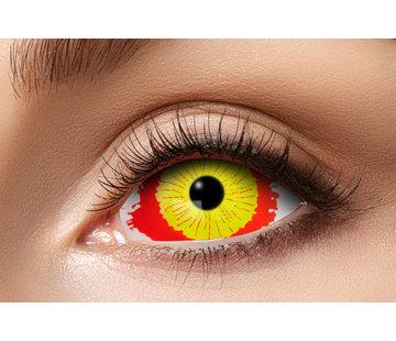 Eyecatcher Damaged Eye   Sclera Lenzen 22mm