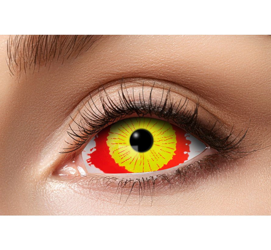 Damaged Eye | Lentilles Sclera 22mm