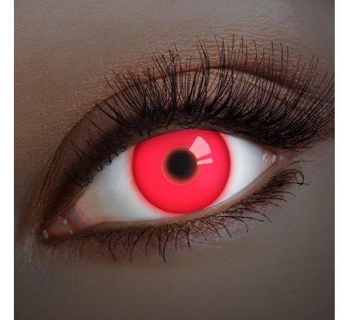 Aricona UV lentilles de couleur Rouge | lentilles annuelles